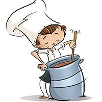Learn About Human Rights and Community Issues:  Soup Kitchen Kids