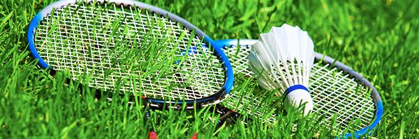 badminton paddles