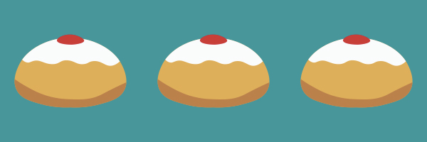 Sufganiyot, Hanukkah, high school resource, Jewish holiday
