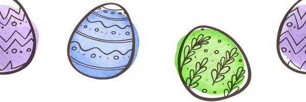 easter eggs,