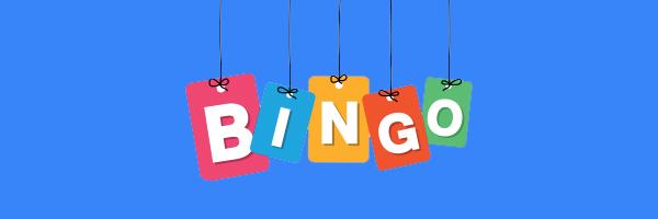 bingo written on signs