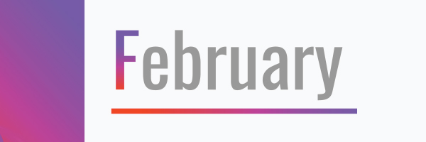 february, month