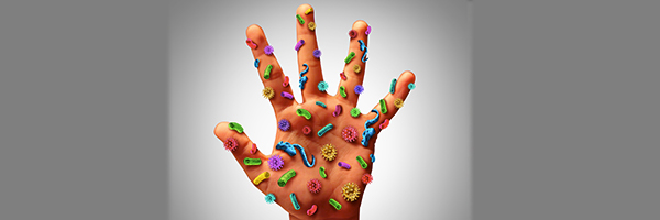 germs on hand