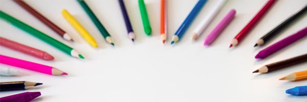 colored pencils,