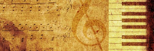 music, piano, sheet music